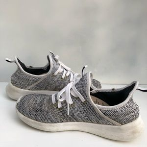 Adidas Gray Shoes Size 6.5